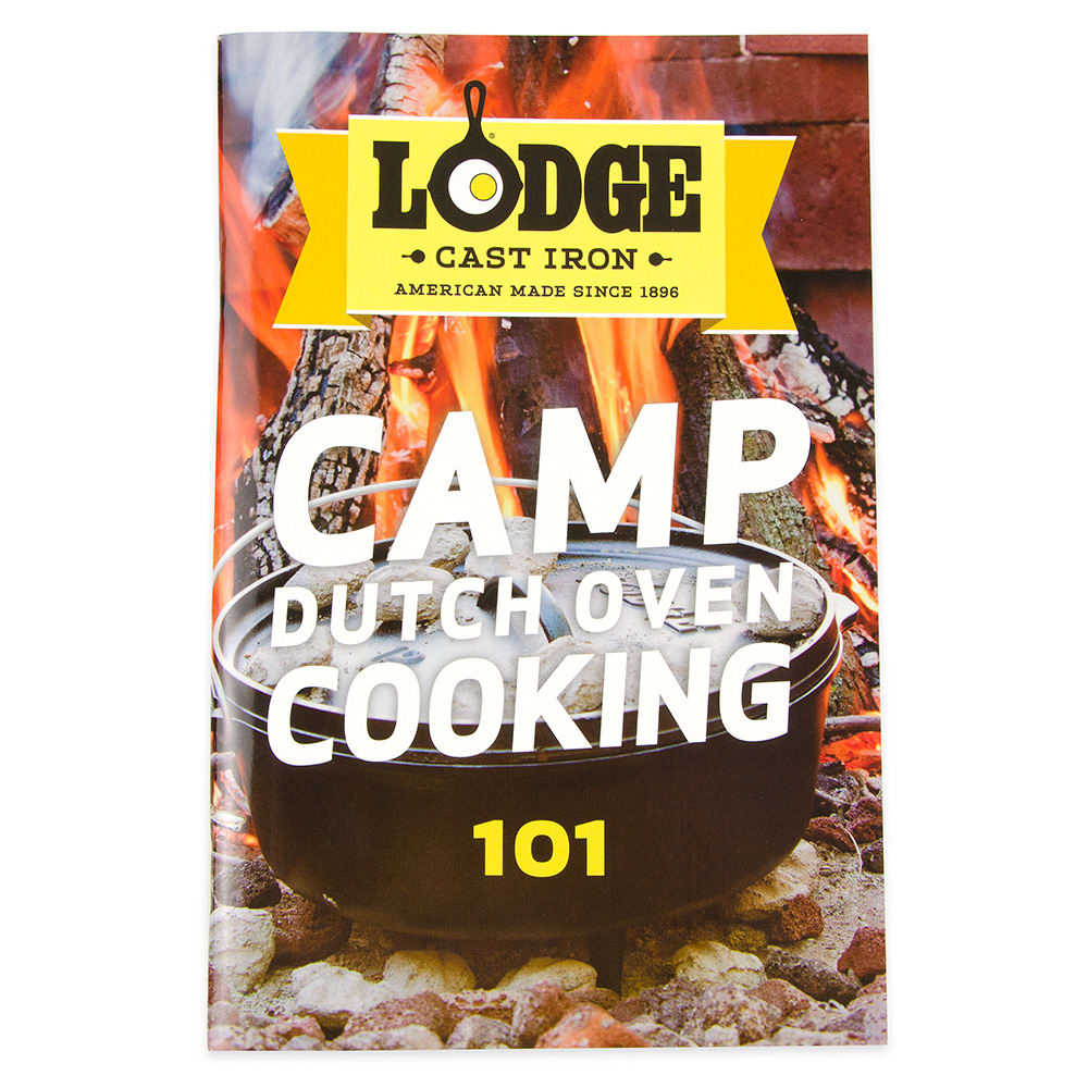 Lodge CB101 Camp Dutch Oven Cooking 101 Cookbook w/ 64 Pages