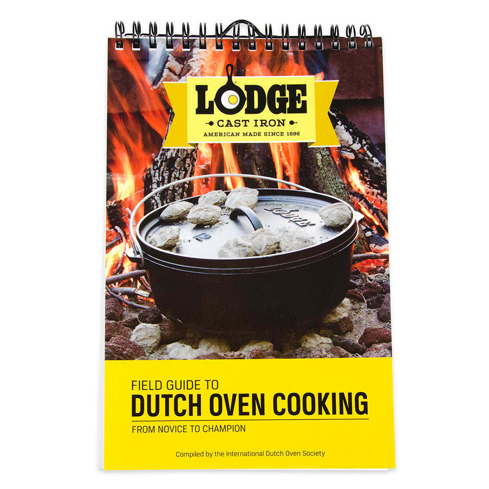 Lodge CBIDOS Field Guide to Dutch Oven Cooking Cookbook w/ 128-Pages