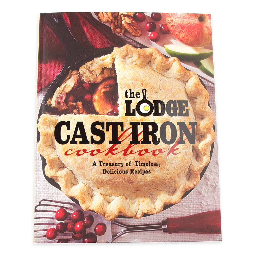 Lodge CBLCI Lodge Cast Iron Cookbook w/ 288-Pages & Over 200-Recipes