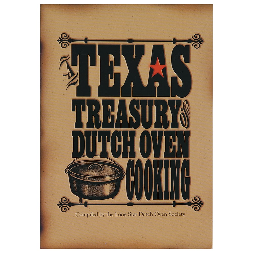 Lodge CBTT Texas Treasury of Dutch Oven Cooking Cookbook w/ 234-Pages