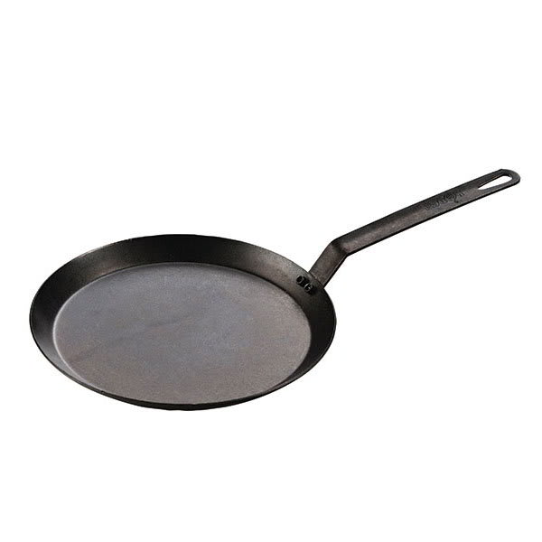 "Lodge CRSGR11 11"" Round Griddle - Carbon Steel"