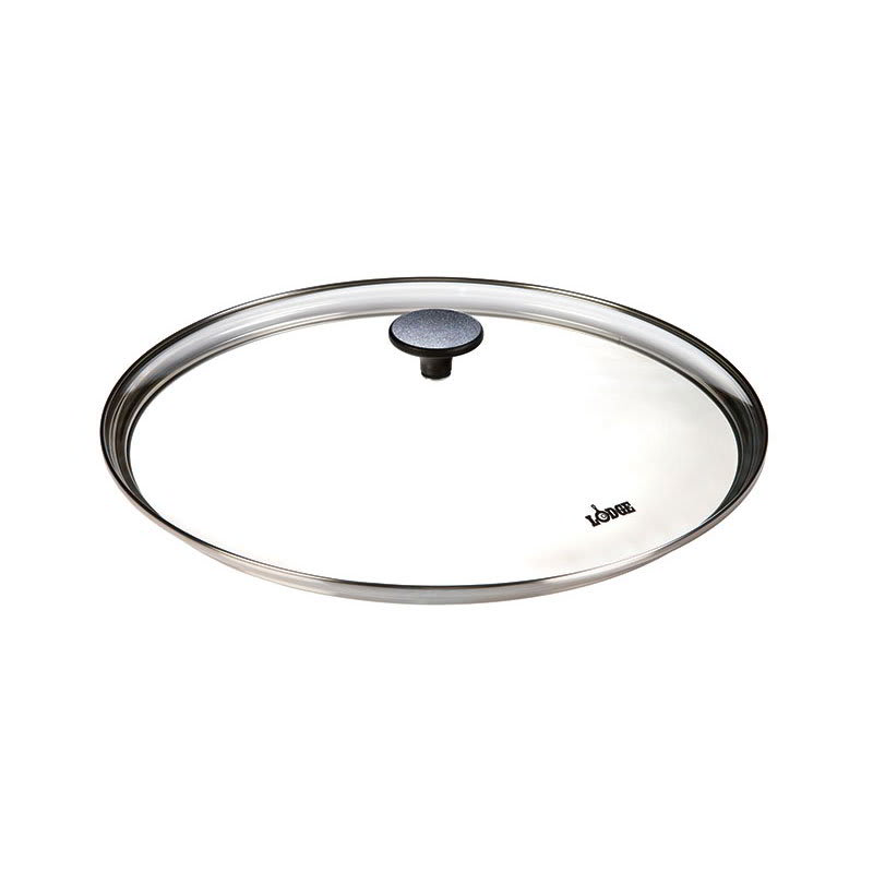 """Lodge GC15 15"""" Round Tempered Glass Cover for L14SK3 & P14W3"""