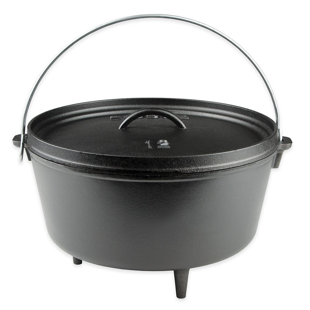 Lodge L12DCO3 8-qt Cast Iron Braising Pot