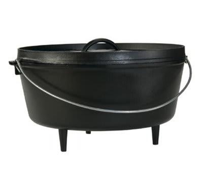 Lodge L14DCO3 10 qt Cast Iron Braising Pot