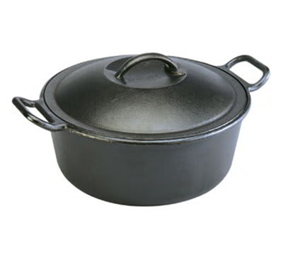 Lodge P10D3 4 qt Cast Iron Braising Pot