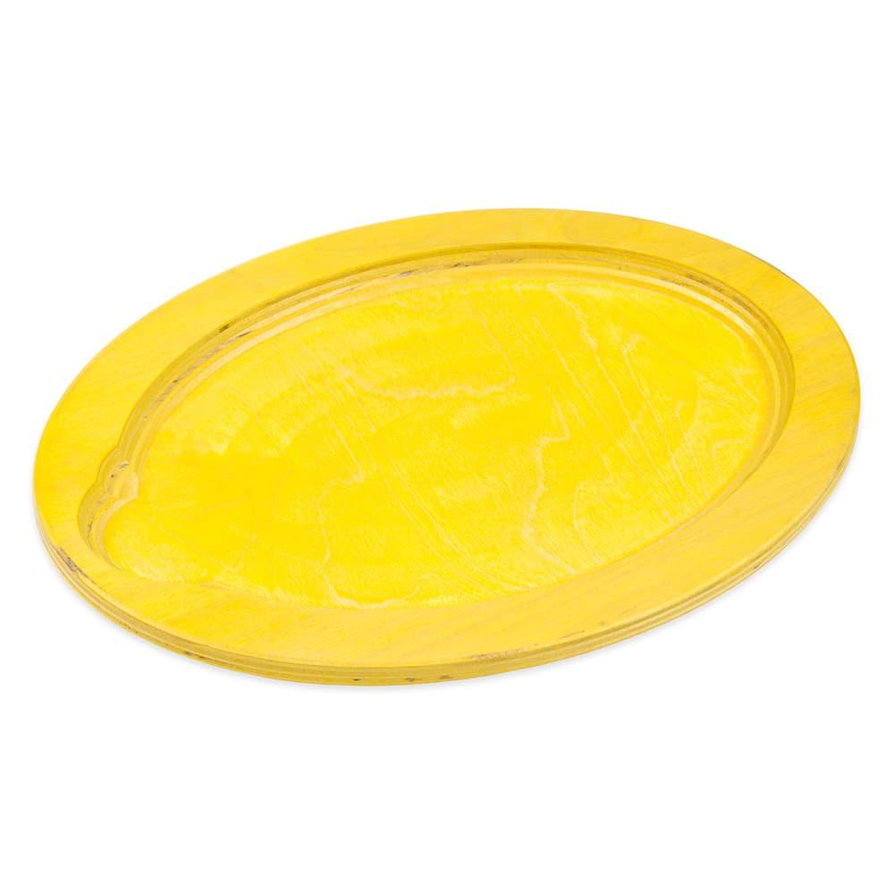 Lodge UOPB7 Oval Wood Underliner, Lemon Yellow