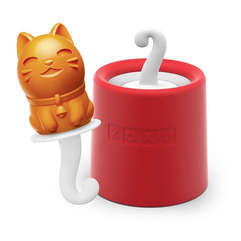 Zoku 009 Kitty Pop Maker - 1 Mold & 1 Stick w/ Drip Guard