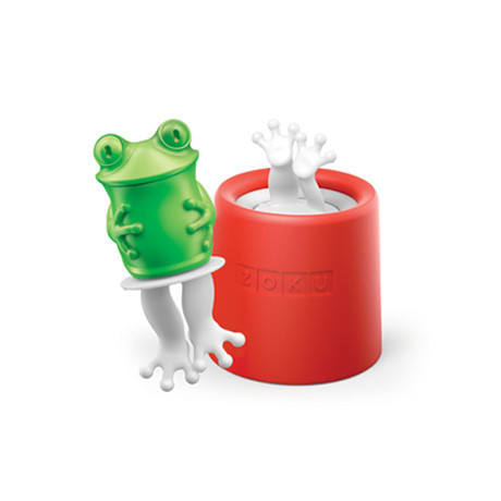 Zoku 011 Frog Pop Maker - 1 Mold & 1 Stick w/ Drip Guard