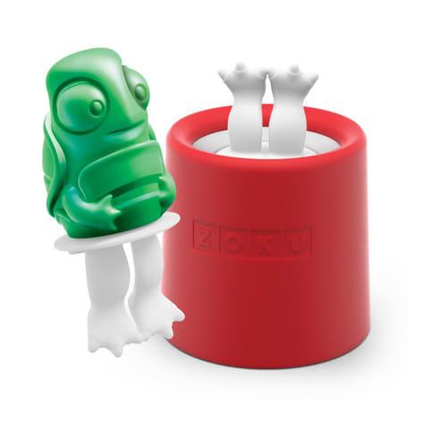 Zoku 012 Turtle Pop Maker - 1 Mold & 1 Stick w/ Drip Guard