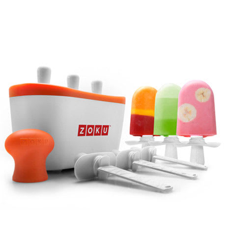 Zoku ZK101 Quick Pop Maker w/ 6-Sticks & Drip Guards, 1-Super Tool