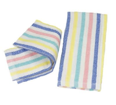 Focus 2323999FS99 Multi-Striped Cotton Towels, 15 x 26 in