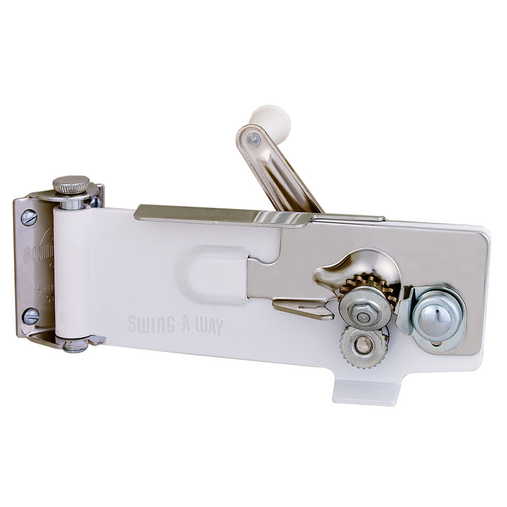 Focus 609WH Swing-A-Way Magnetic Wall Can Opener, White