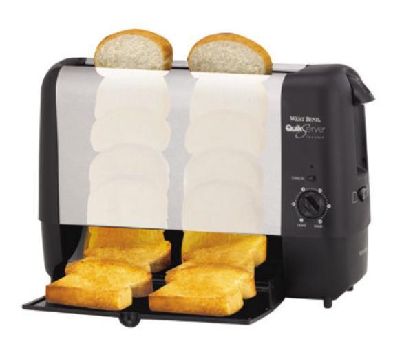 Focus 78222 Vertical Toaster W 2 Slice Tray Amp Bagel