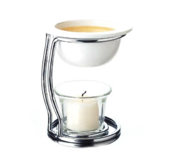 Focus 8421 Butter Warmer Set, Contemporary Style, 4 in dia x 4 - 5/8 in H