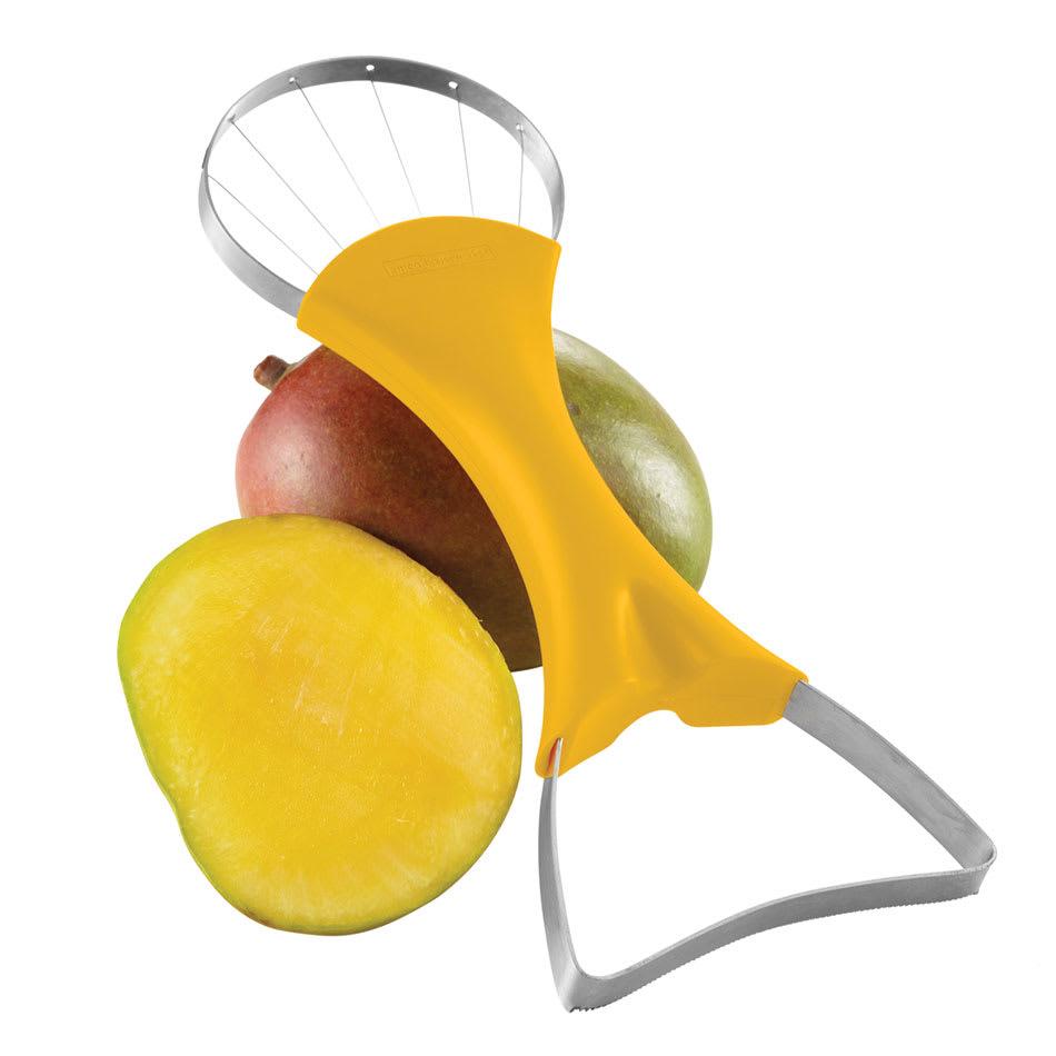 "Focus 8908 2"" 1-Mango Slicer & Pitter w/ Yellow Handle"