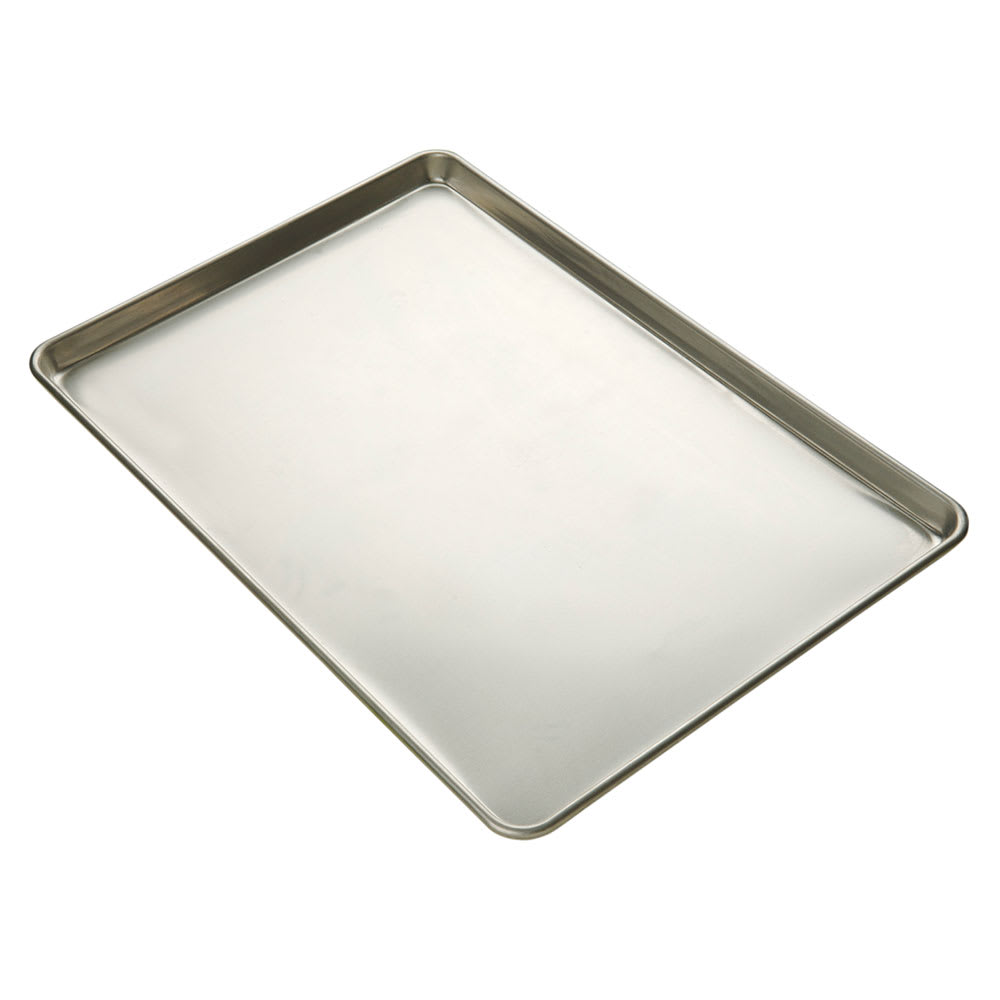 "Focus 900450 Sheet Pan, 1/4 Size, 9 1/2"" X 13 in, Natural Finish"