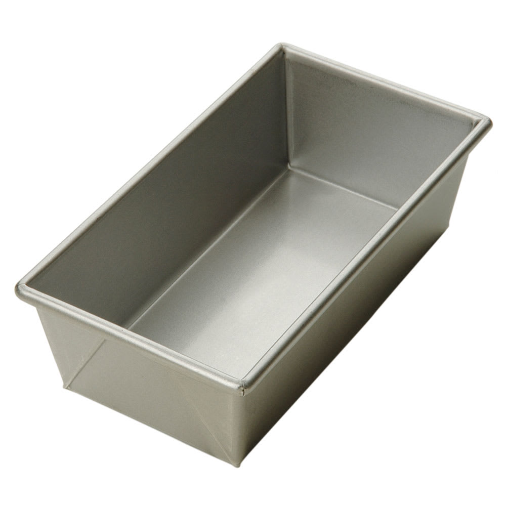 Focus 900565 Open Top Bread Pan, 1 lb. Capacity, Glazed Aluminized Steel