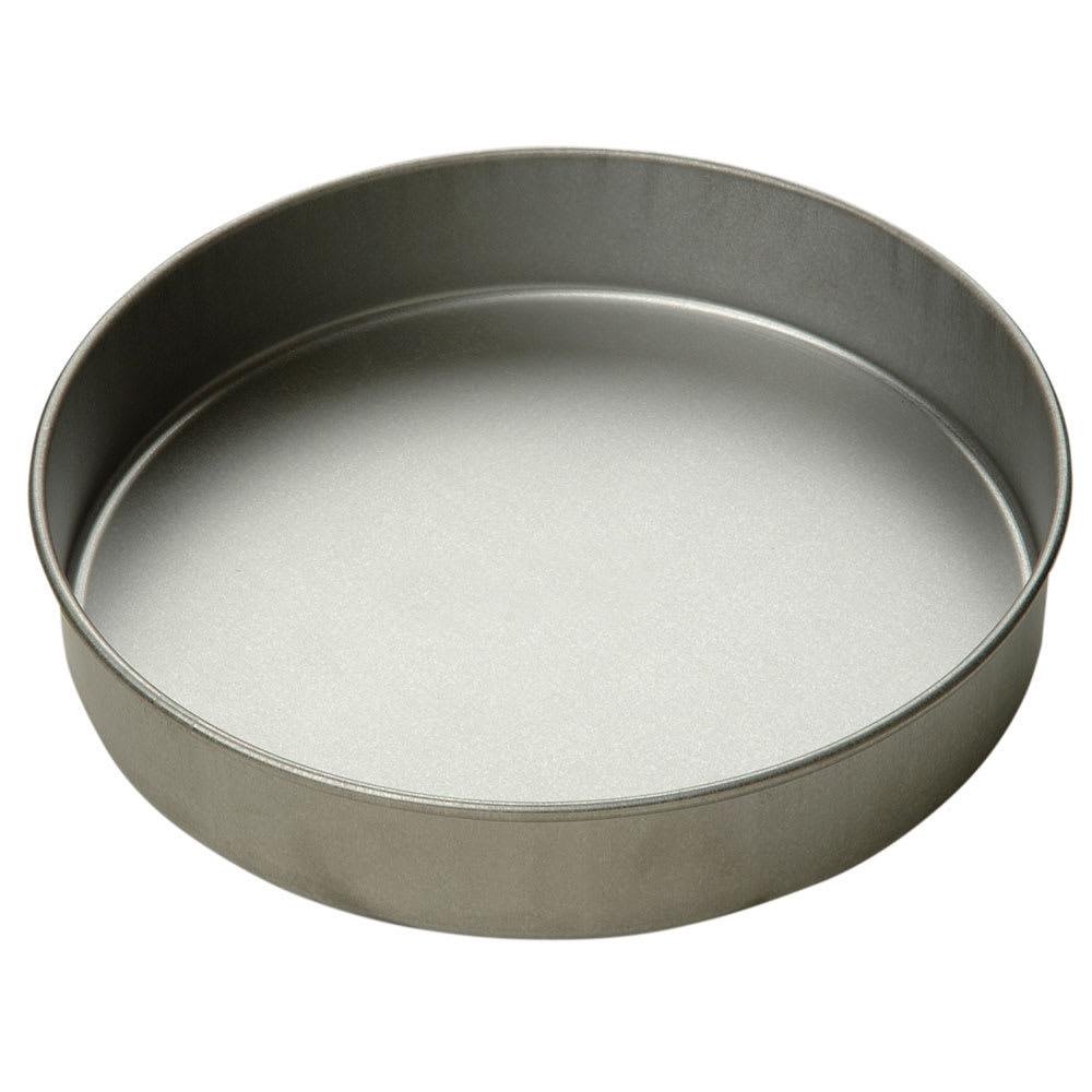 "Focus 901025 Cake Pan, Round, 10"" Dia x 2""deep, Glazed Aluminized Steel"