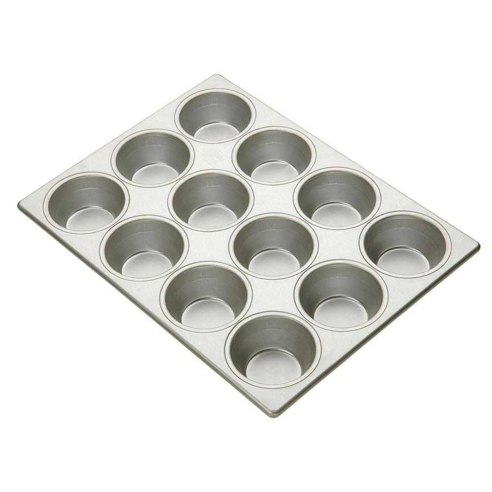 "Focus 903695 Pecan Roll Pan, Holds (12) 3-11/16""dia Rolls"