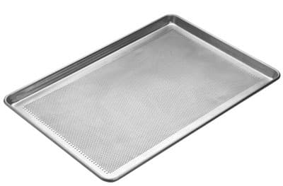 Focus 904890 Full Size Sheet Pan, Perforated Bottom, Aluminum, 18 x 26 x 1/8 in