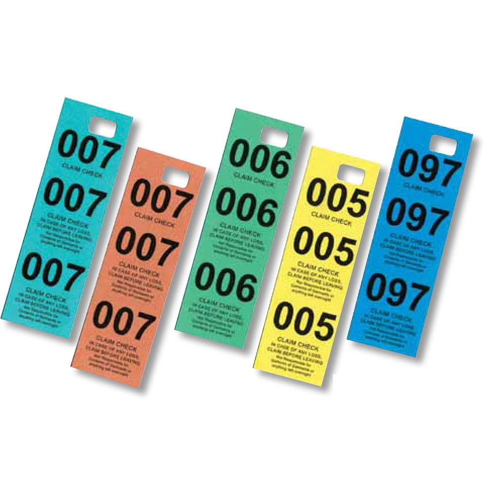 Focus 90CC500 Coat Check Tags, Box Of 500