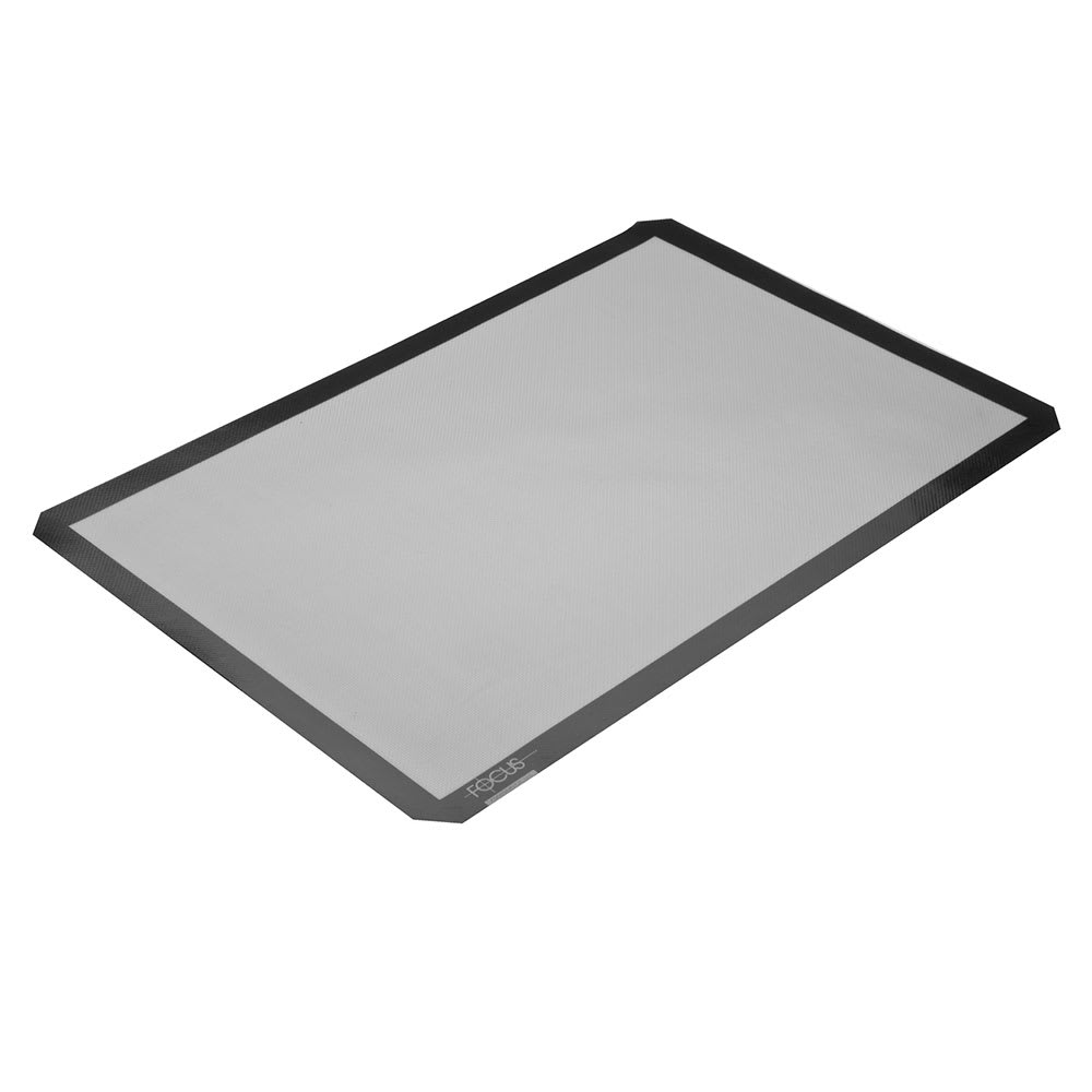 "Focus 90SBM1624 Baking Mat, Full Size, 16 1/2"" X 24 1/2 in, Silicone Over Fiberglass"