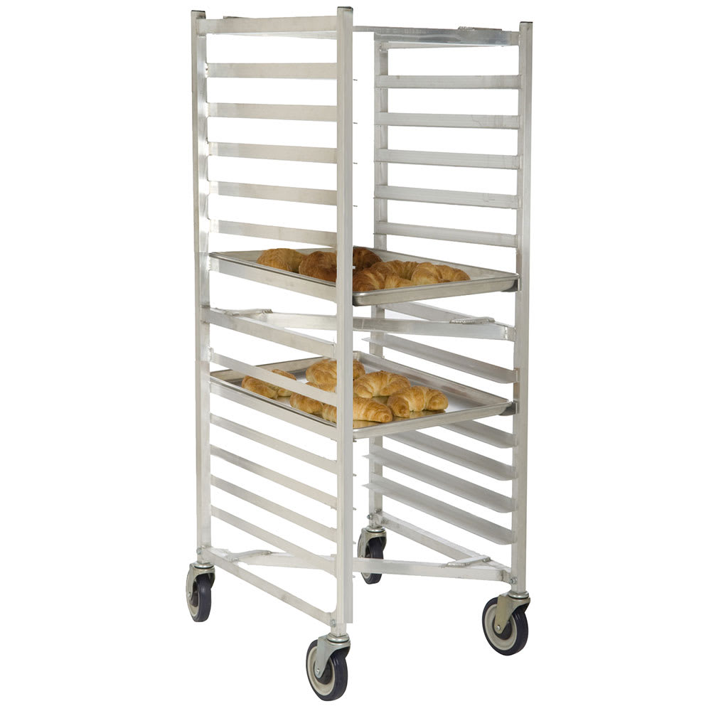 "Focus FAZNBR12 20.81""W 12 Sheet Pan Rack w/ 5"" Bottom Load Slides"