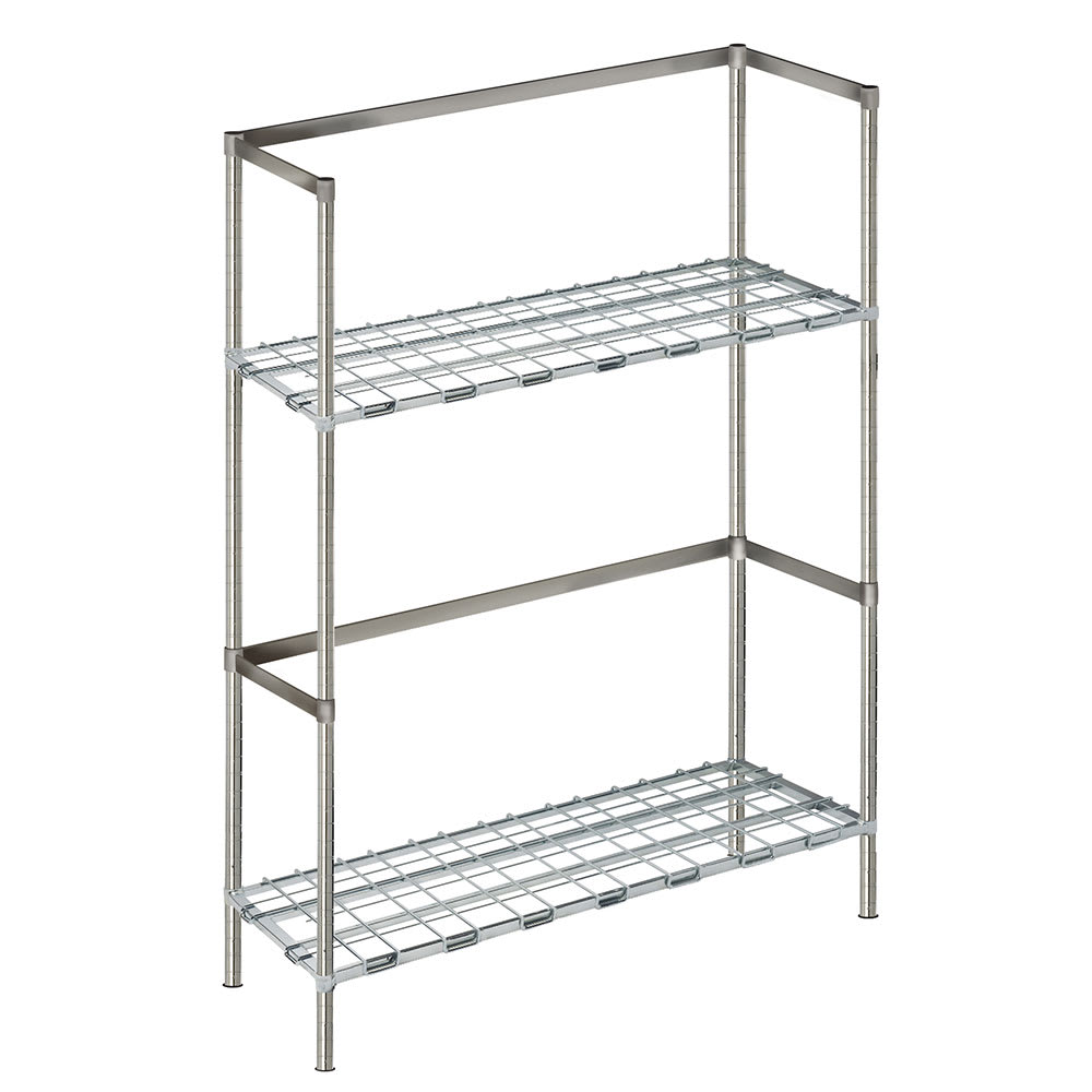 "Focus FBKR186054 (2) Level Keg Rack w/ (6) Keg Capacity, 60"" x 18"" x 54"""