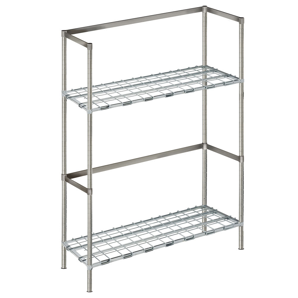 "Focus FBKR186063 (2) Level Keg Rack w/ (6) Keg Capacity, 60"" x 18"" x 63"""