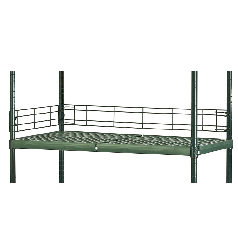 "Focus FBL304FPS Shelving Ledge - 30"" x 4"", Green"