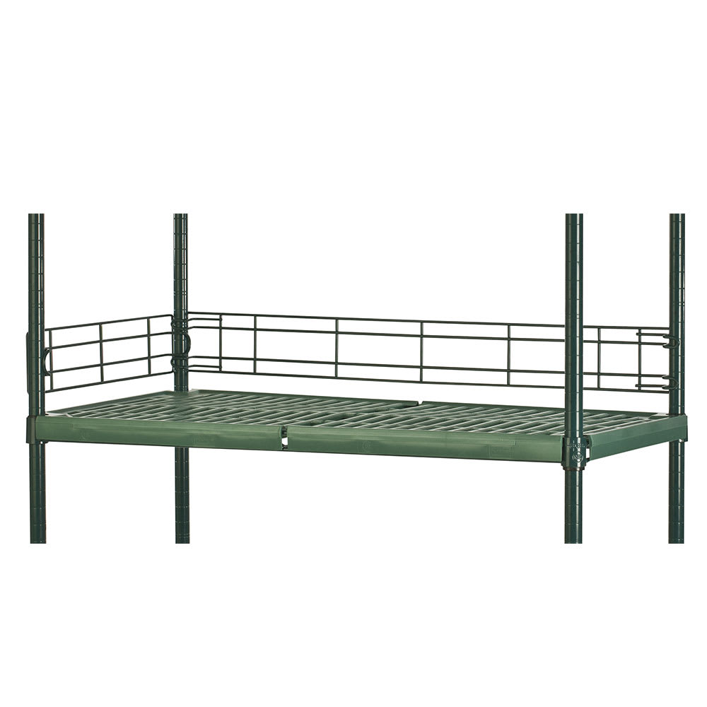 "Focus FBL364FPS Shelving Ledge - 36"" x 4"", Green"