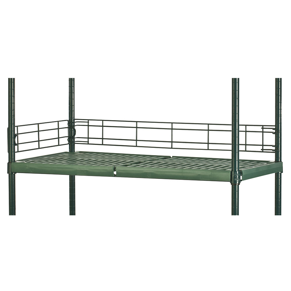 "Focus FBL484FPS Shelving Ledge - 48"" x 4"", Green"