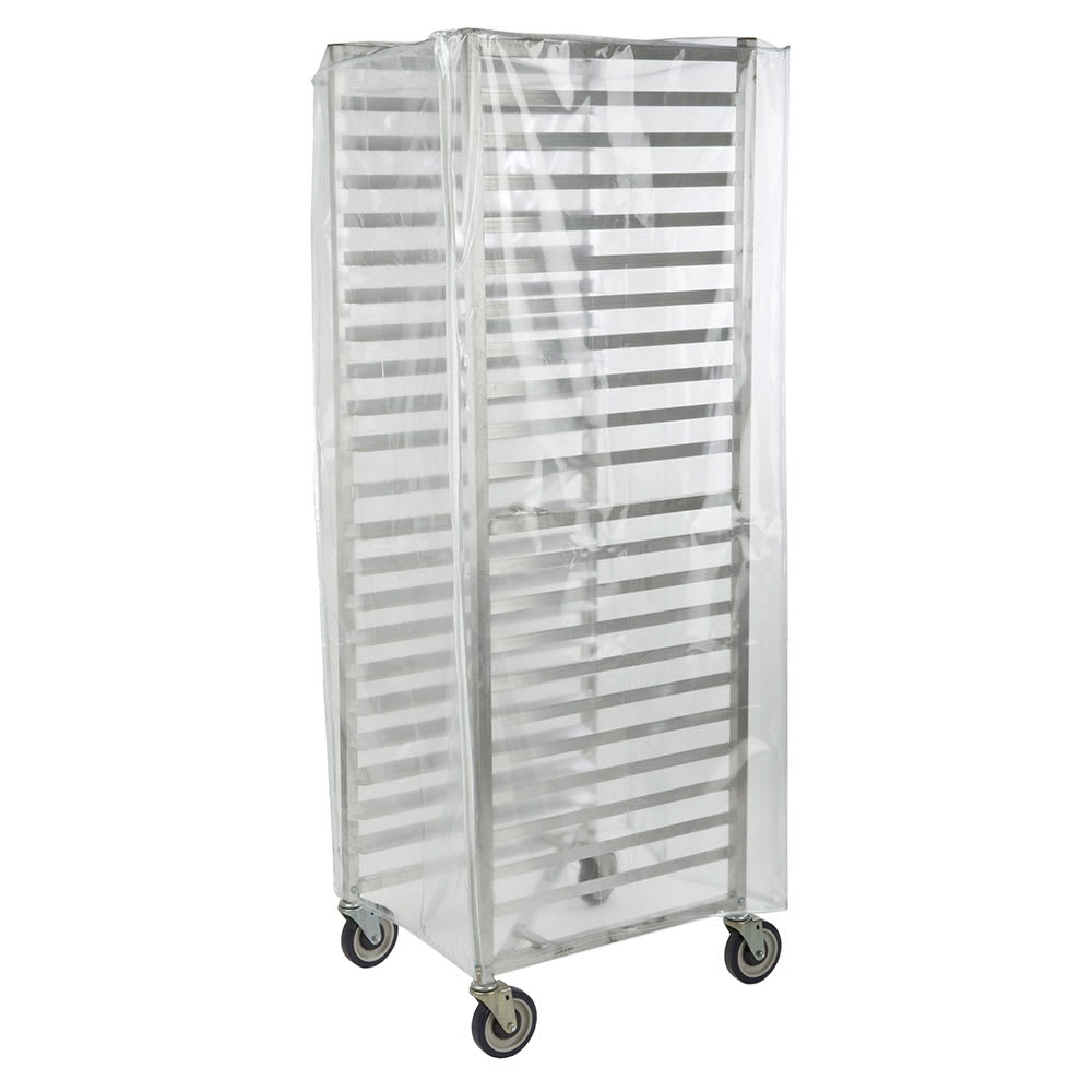 Focus FBRCNF Full Size Bakery Rack Cover w/ 3-Zippers, Nylon