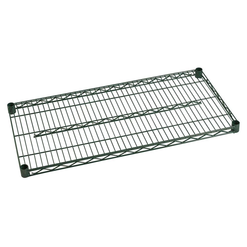 "Focus FF1424G Epoxy Coated Wire Shelf - 24""W x 14""D"