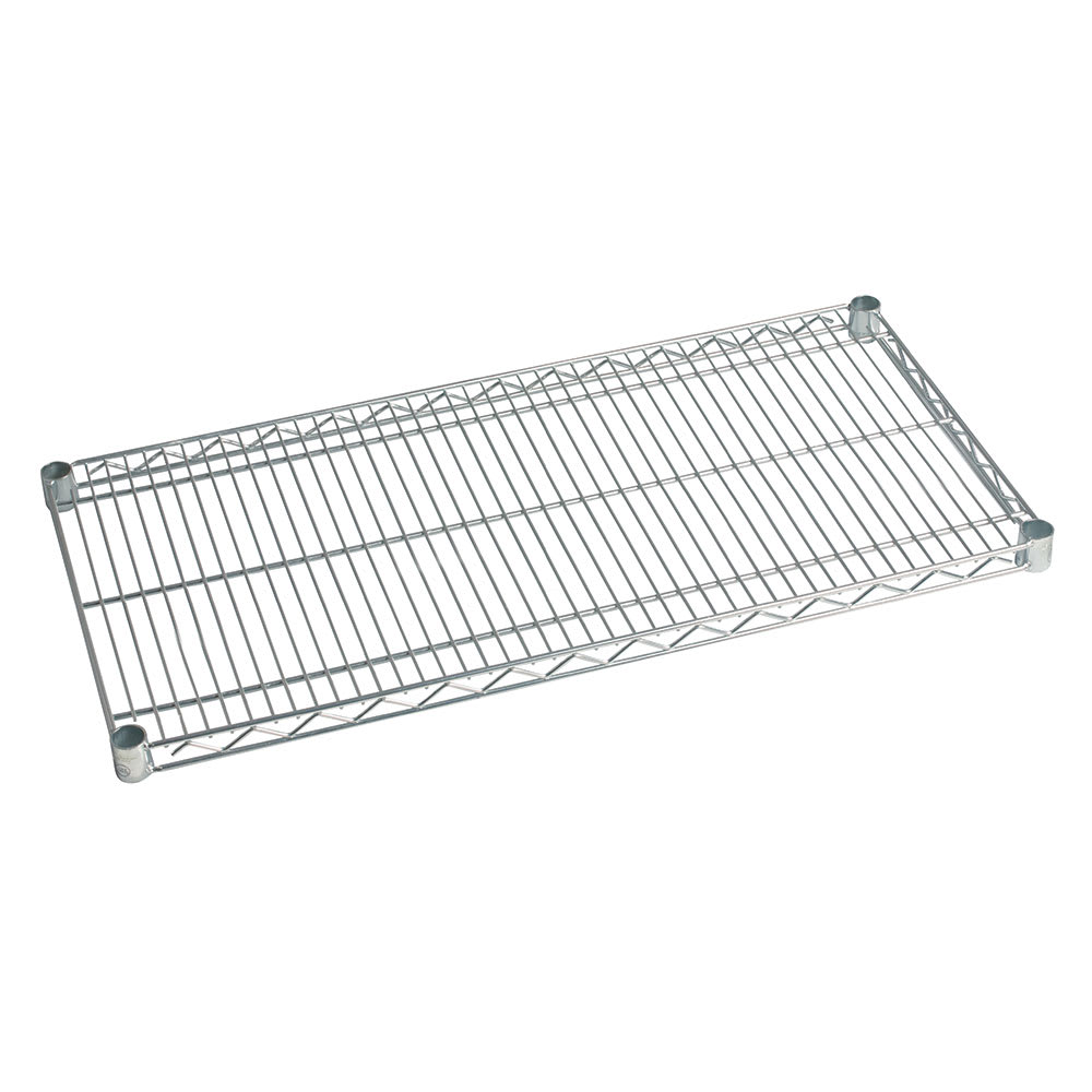 "Focus FF1848WRSS Stainless Steel Wire Shelf - 48""W x 18""D"