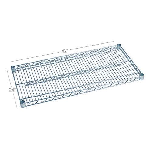 "Focus FF2442WRSS Stainless Wire Shelf - 24x42"""
