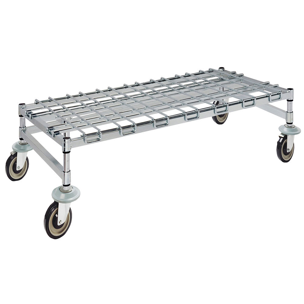 """Focus FFMDR2448CH 48"""" Mobile Dunnage Rack w/ 800 lb Capacity, Wire"""