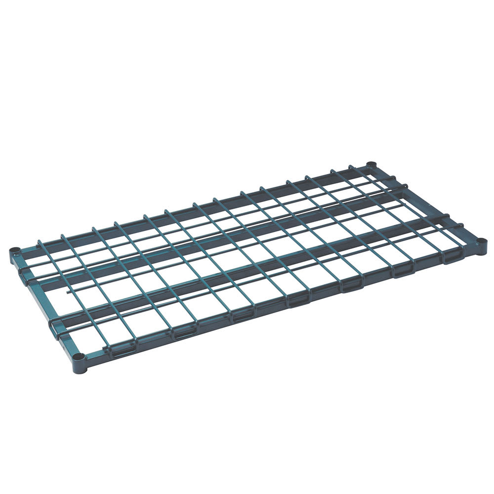 "Focus FFSM2448GN 24"" Stationary Dunnage Rack w/ 1300-lb Capacity, Epoxy-Coated Wire"