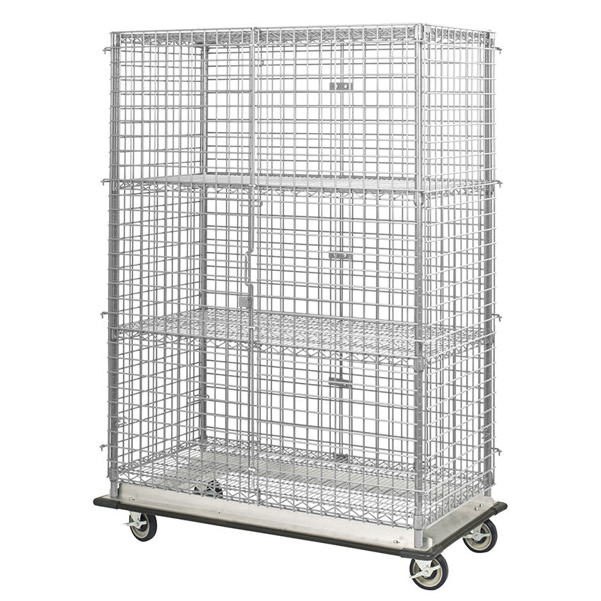 "Focus FHDMSEC24604 60"" Mobile Security Cage, 24""D"