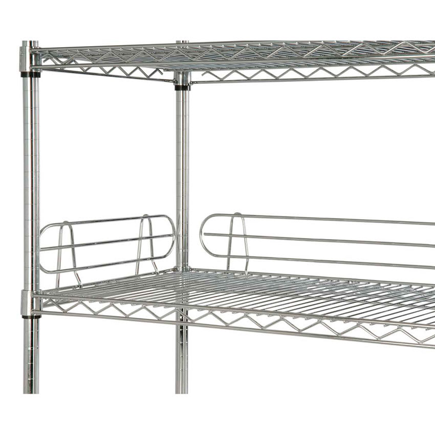 "Focus FL244C Shelf Ledge - 24"" x 4"", Chrome"