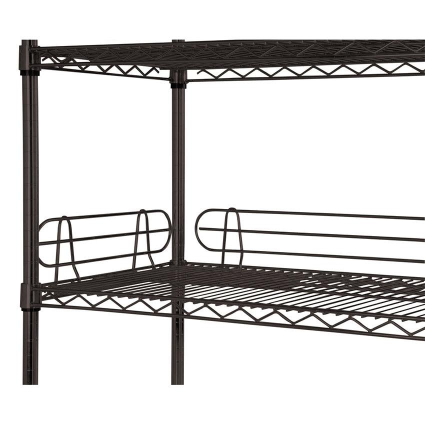 "Focus FL364BK Shelf Ledge - 36"" x 4"", Black"