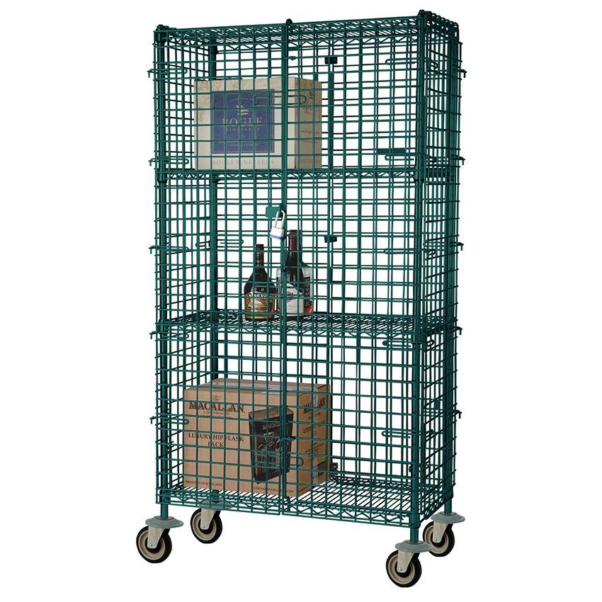 "Focus FMSEC24603GN 60"" Mobile Security Cage, 24""D"