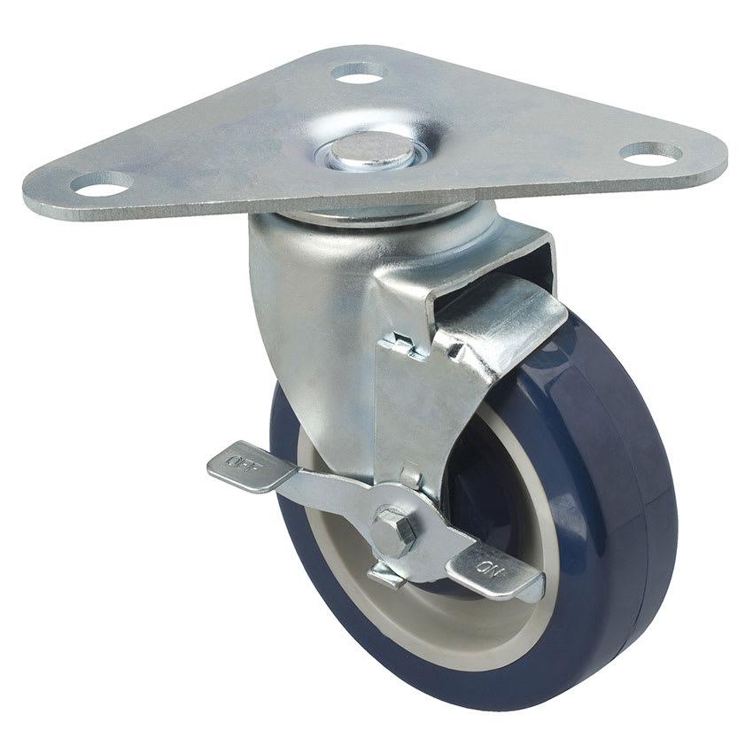 "Focus FPCTR5 Heavy Duty Triangle Plate Caster Set  w/ 500 lb Capacity Per Wheel, 5"""