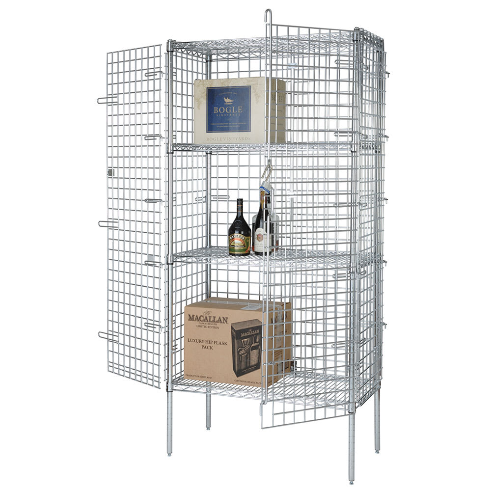"""Focus FSEC184863 48"""" Stationary Security Cage, 18""""D"""