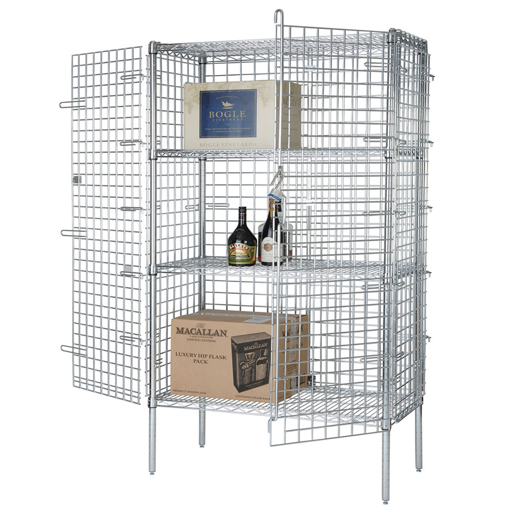 """Focus FSEC186063 60"""" Stationary Security Cage, 18""""D"""