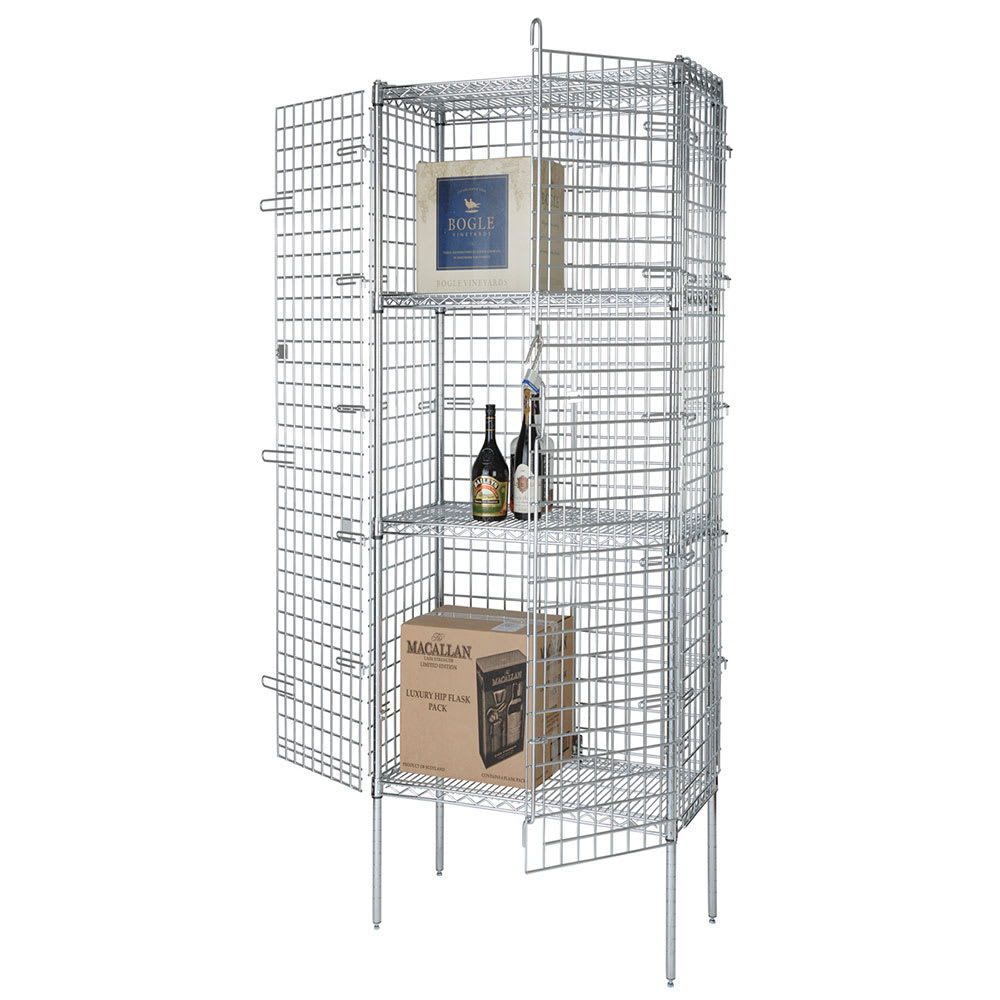 "Focus FSEC243663 36"" Stationary Security Cage, 24""D"