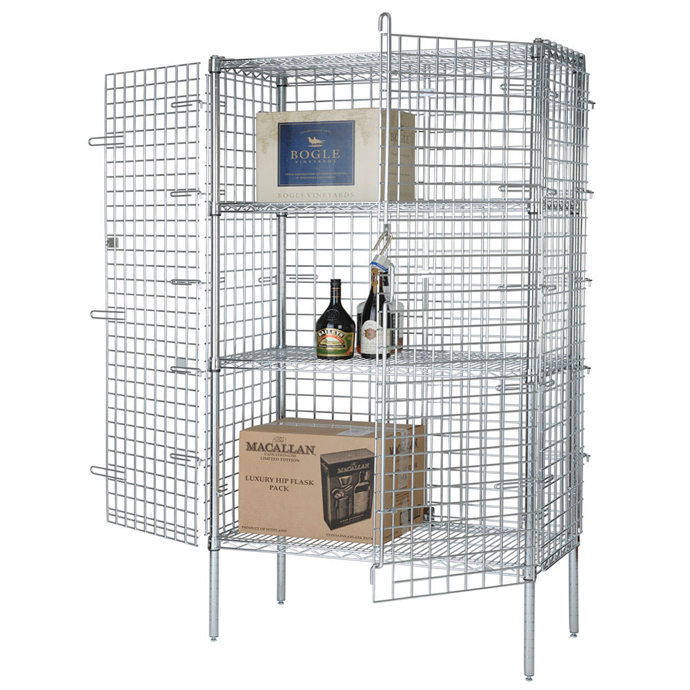"""Focus FSEC246063 60"""" Stationary Security Cage, 24""""D"""