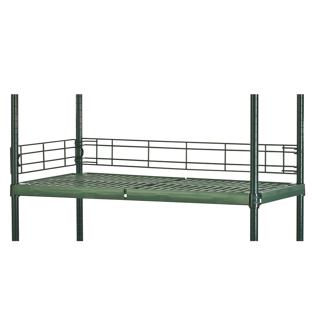 "Focus FSL244FPS Shelving Ledge - 24"" x 4"", Green"