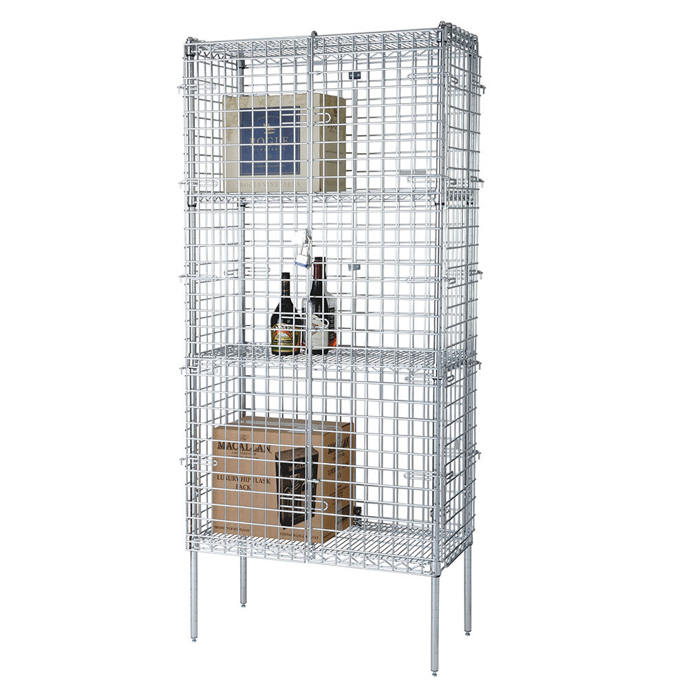 "Focus FSSEC18364 36"" Stationary Security Cage, 18""D"