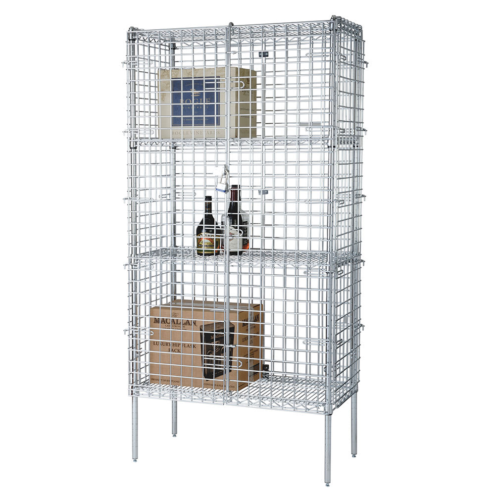 "Focus FSSEC18484 48"" Stationary Security Cage, 18""D"